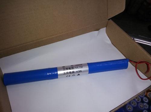 11.1V li-ion battery pack