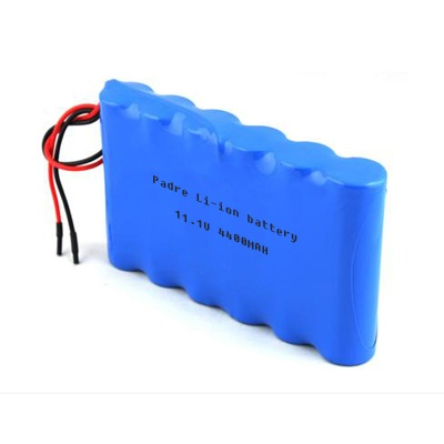 Lithium Battery Pack >> 11 1v 4400mah Li Ion Rechargeable Battery Pack 11 1v Li Ion Battery