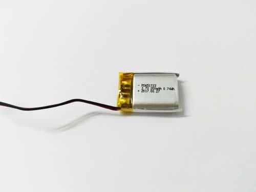 Tiny size small lipo battery 3.7v 200mAh PD651723