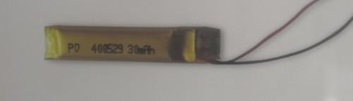 narrowest 5mm LiPo battery