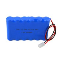 7.4v 6600mAh li-ion rechargeable battery pack