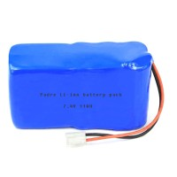 7.4v 11Ah li-ion rechargeable battery pack