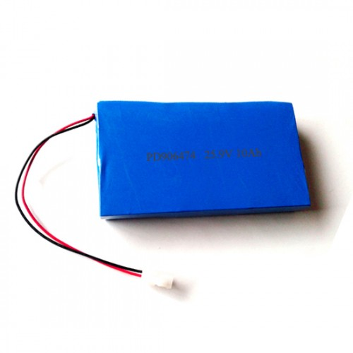 25.9v 10Ah lithium polymer battery pack 906474