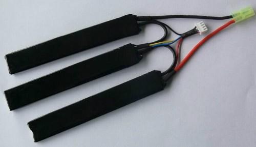 RC airsoft gun battery