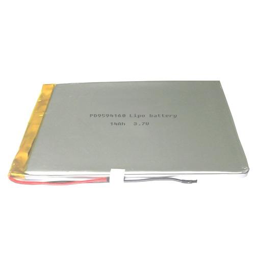 Large li-polymer battery 3.7V 14Ah PD9594160