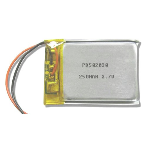3.7V 250MAH Lipo battery PD502030