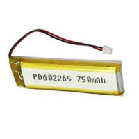 Lipo battery 3.7V 750mAh PD602265