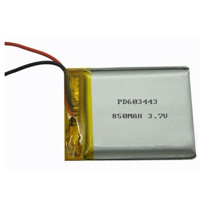 Lipo battery 3.7V 850MAH PD603443