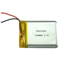 Lipo battery 3.7V 930MAH PD653444