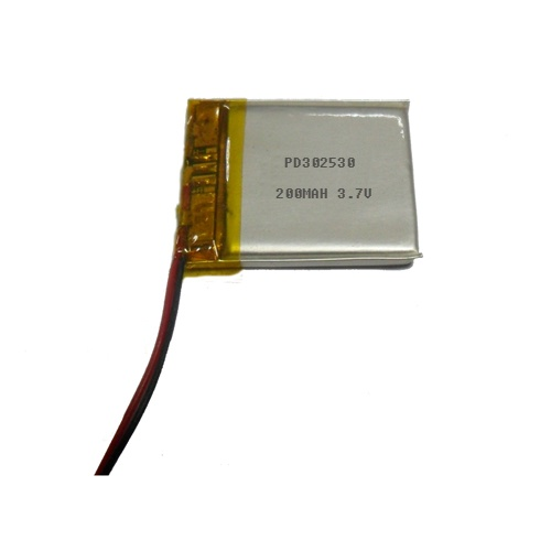Li-polymer battery 3.7V 150MAH PD302530