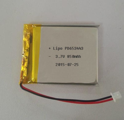 lithium polymer battery,lipo battery,653443 battery