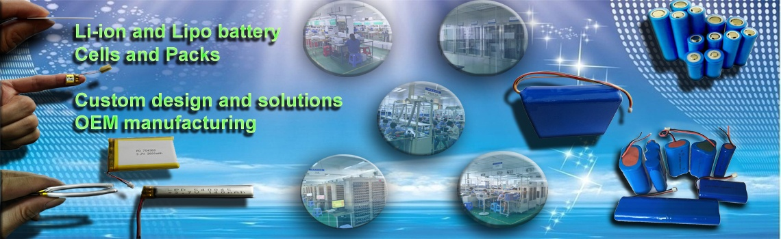 China lithium polymer battery manufacturer