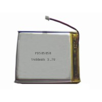 Lithium polymer battery 3.7V 1400mAh PD505058