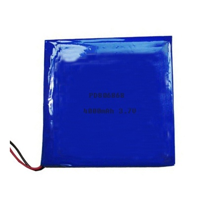 Lithium polymer battery 3.7V 4Ah PD806868