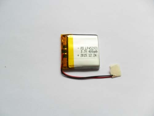 Lithium polymer battery 3.7v 400mAh PD452931