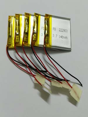 Lithium polymer battery with PCM