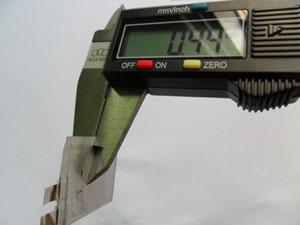 OTP card ultra thin battery
