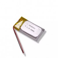 Tiny size small lipo battery 3.7V 80mAh PD501221