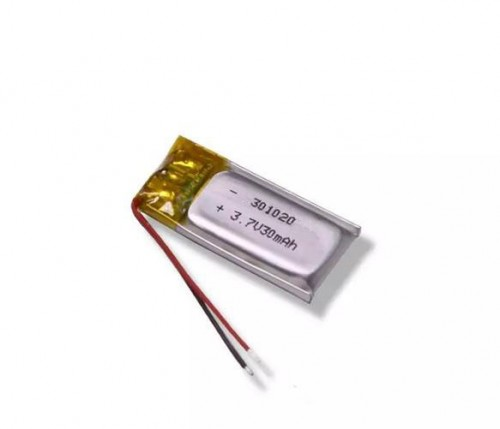 Ultra small LiPO battery 3.7V 20mAh PD301020