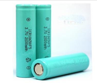 18650 Li-ion battery 2600mAh cylindrical lithium ion battery