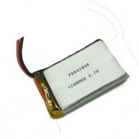 Lipo battery pack 3.7V 1200MAH PD843048