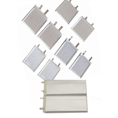 Lithium polymer battery cells list(Li-polymer/pouch cells)