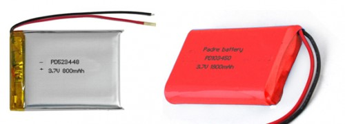lithium polymer battery ws